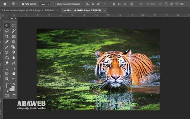 کاهش حجم عکس برای سایت با فتوشاپ